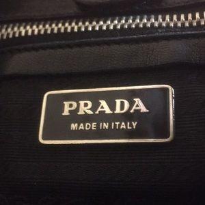 Authentic CLASSIC Prada microfiber bag great SHAPE